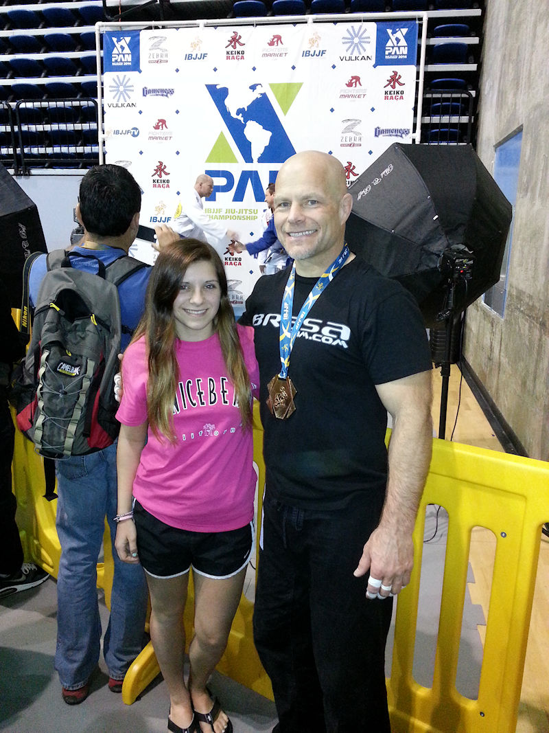 2014-03-14 IBJJF Pan Scott and Alyssa