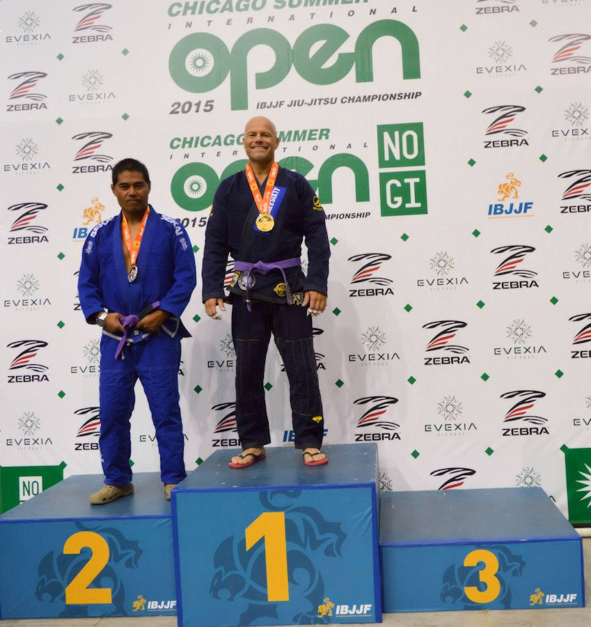 2015-08-15 IBJJF Chicago Summer Open medium heavy champion