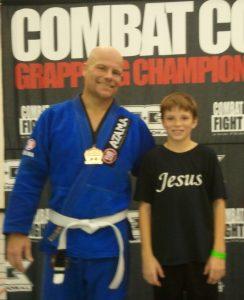2010-11-06 Combat Corner gold with Seth