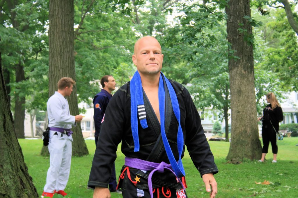 2014-08-23 360-BJJ promoted to purple belt
