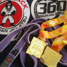 2017 IBJJF Chicago Summer Open – Double Gold!