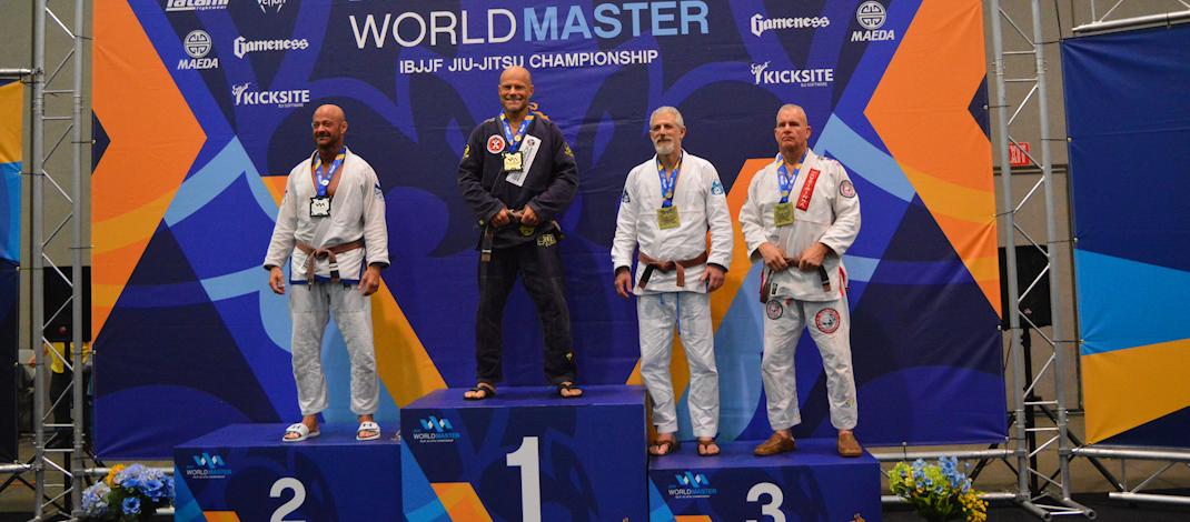 2018 IBJJF Masters Worlds – Gold!