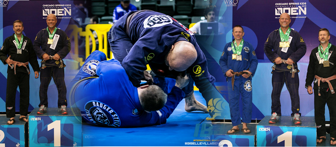 2019 IBJJF Chicago Spring Open – Double Gold!