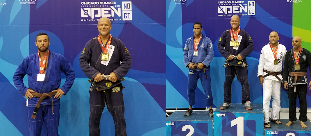 2019 IBJJF Chicago Summer Open – Double Gold!