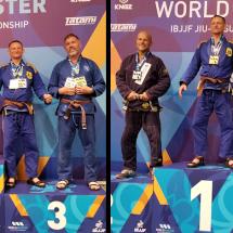 2019 IBJJF Masters Worlds – Silver & Gold!