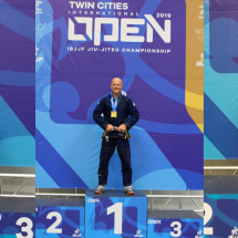 2019 IBJJF Twin Cities Open – Gold!