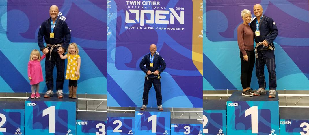 2019 IBJJF Twin Cities Open – Gold!