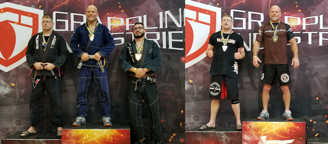 2019 Grappling Industries Milwaukee– Double Gold!