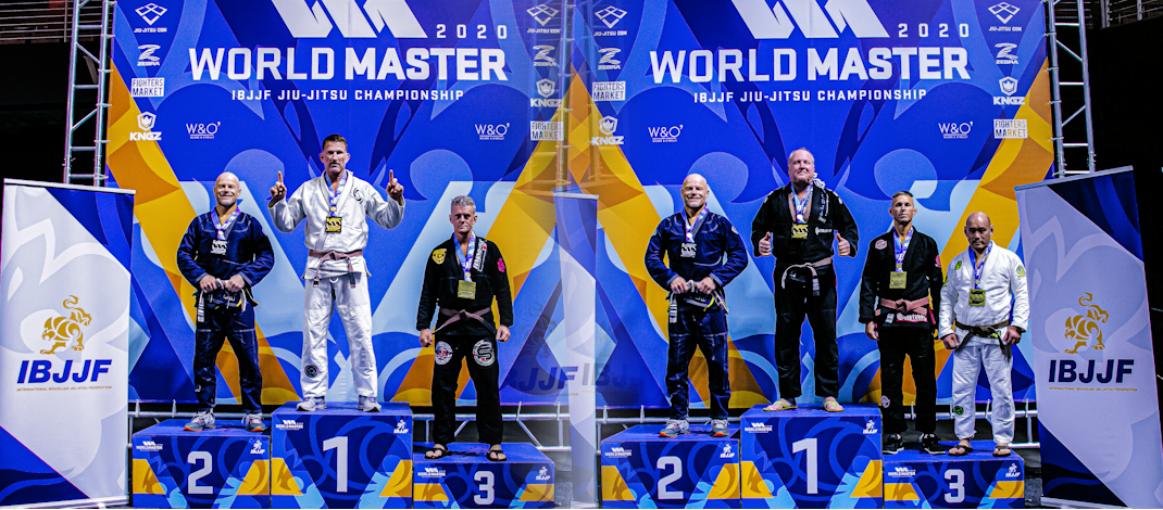 2020 IBJJF Masters Worlds – Double Silver!