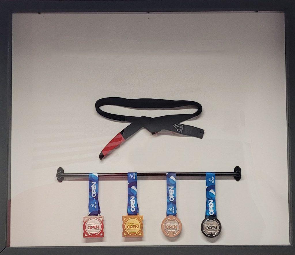 Jiu-Jitsu Black belt medals